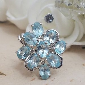 Jewelry - 925 Sterling Silver Chunky Ring Size 6
